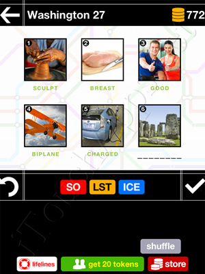 Pics & Pieces Washington Pack Level 27 Answer