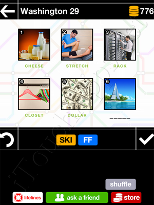 Pics & Pieces Washington Pack Level 29 Answer