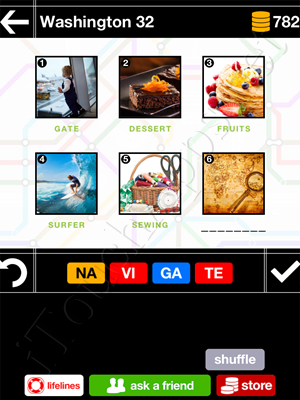 Pics & Pieces Washington Pack Level 32 Answer