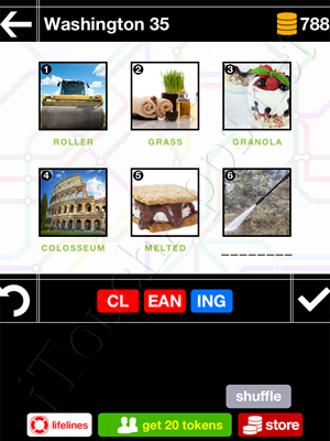 Pics & Pieces Washington Pack Level 35 Answer