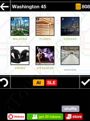 Pics & Pieces Washington Pack Level 45 Answer