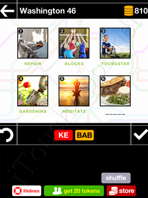 Pics & Pieces Washington Pack Level 46 Answer