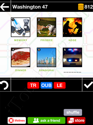 Pics & Pieces Washington Pack Level 47 Answer