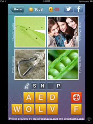 What's the Word Level 1058 Solution