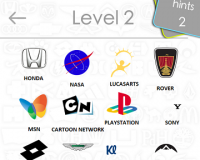 Logos Quiz Game Answers: Level 2 Part 2 – For iPod, iPhone, iPad