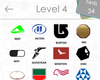 Logos Quiz Game Answers: Level 4 Part 3 – For iPod, iPhone, iPad