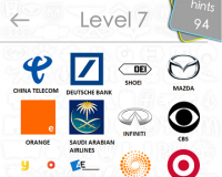 Logos Quiz Game Answers: Level 7 Part 4 – For iPod, iPhone, iPad