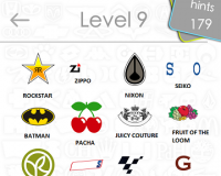 Logos Quiz Game Answers: Level 9 Part 1 – For iPod, iPhone, iPad