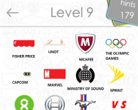 Logos Quiz Game Answers: Level 9 Part 4 – For iPod, iPhone, iPad