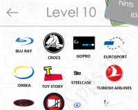 Logos Quiz Game Answers: Level 10 Part 3 – For iPod, iPhone, iPad