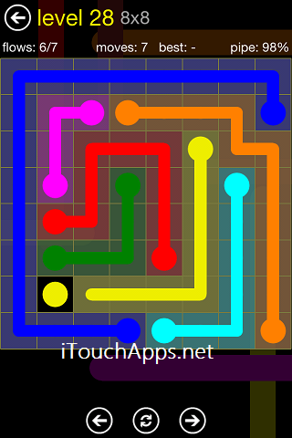 Flow Regular Pack 8 x 8 Level 28 Solution