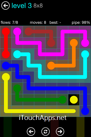 Flow Blue Pack 8 x 8 Level 3 Solution