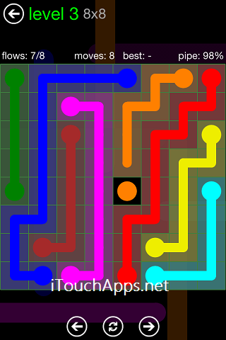Flow Green Pack 8 x 8 Level 3 Solution