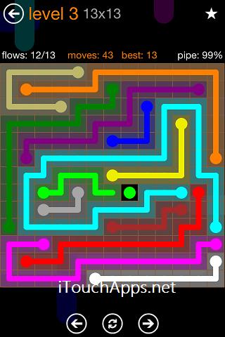 Flow Jumbo Pack 13 x 13 Level 3 Solution