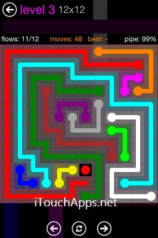 Flow Purple Pack 12 x 12 Level 3 Solution