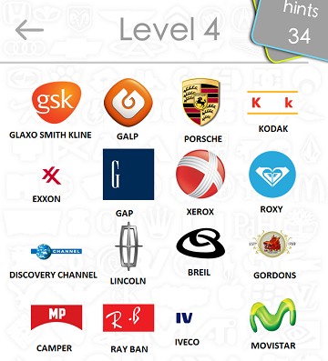 logos quiz answers: level 4 part 4