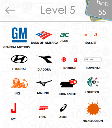 Logos Quiz Answers: Level 5 Part 4iTouchApps net – #1 iPhone
