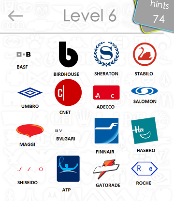 Logos Quiz Answers Level 6 Part 4