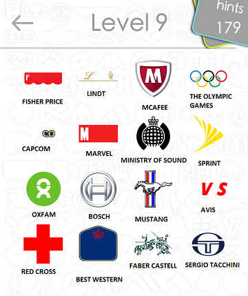 logos quiz answers: level 9 part 4