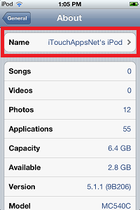 How to Change Your Ipod's Name