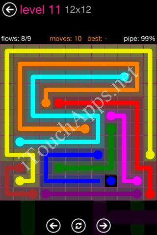 Flow Pink Pack 12 x 12 Level 11 Solution