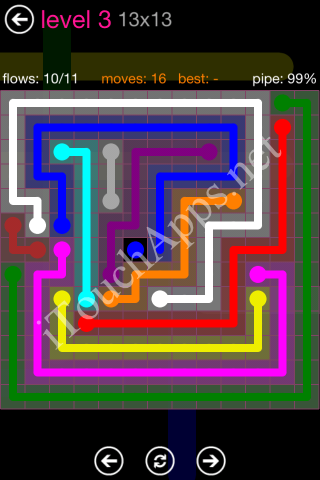 Flow Pink Pack 13 x 13 Level 3 Solution