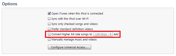 High Bit Rate - How to Free Up Space on Ipod Touch