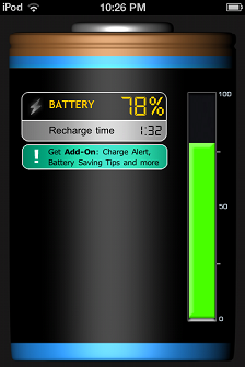 iBattery Free - How to Check Ipod Touch Battery Percentage