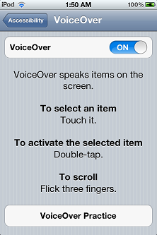 Voiceover On -