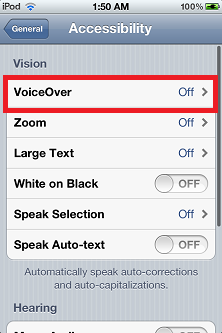 Voiceover - How to Check Ipod Touch Battery Percentage
