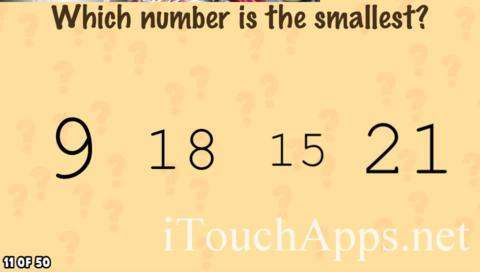 What's My IQ Level 11 Answer - iTouchApps net - #1 iPhone/iPad