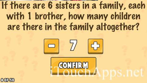 What's My IQ Level 8 Answer