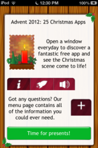 Advent 2012: 25 Christmas Apps Review