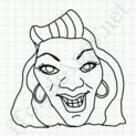 Badly Drawn Faces Beyonce