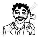 Badly Drawn Movies Borat
