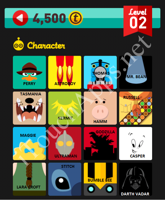 Icon Pop Quiz Character Quiz Level 2 Part 2 Answers / Solutions