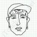 Badly Drawn Faces Eminem