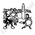 Badly Drawn Movies Gladiator