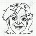 Badly Drawn Faces Goldie Hawn