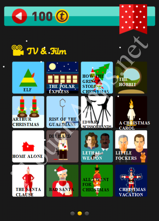 Icon Pop Quiz Game Holiday Season Gift Part 2 Answers / Solutions