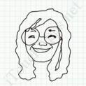 Badly Drawn Faces Janis Joplin