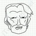 Badly Drawn Faces Kris Kristofferson