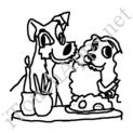 Badly Drawn Movies Lady and the Tramp