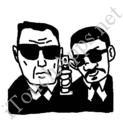 Badly Drawn Movies Men in Black