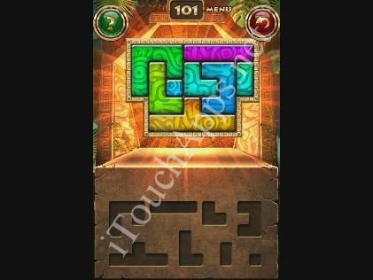 Montezuma Puzzle Level 101 Solution