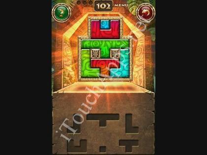 Montezuma Puzzle Level 102 Solution