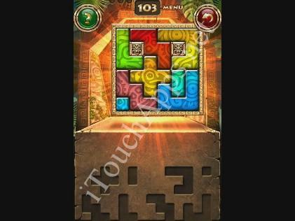 Montezuma Puzzle Level 103 Solution