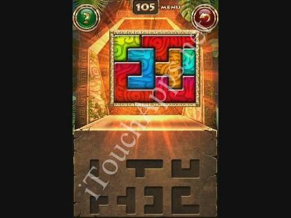 Montezuma Puzzle Level 105 Solution
