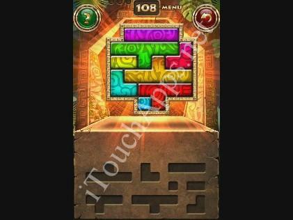 Montezuma Puzzle Level 108 Solution