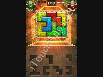 Montezuma Puzzle Level 109 Solution